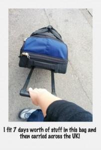 bag leaving