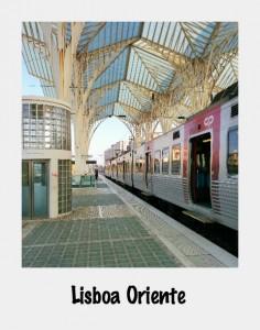 Lisboa Oriente text
